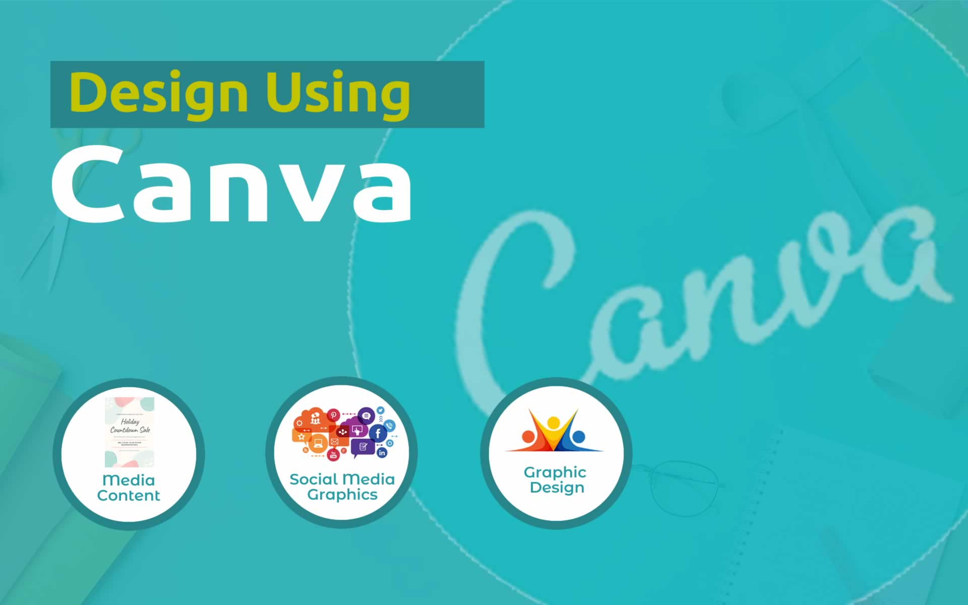 Learn How to Design using Canva | 9-19 years (Typography+Social media design+ Graphic Design)